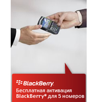 Услуга BlackBerry® теперь стала ощутимо доступнее