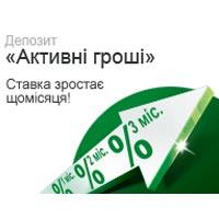 Депозит від УкрСиббанку «Активні гроші»