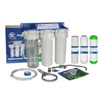 Фильтр тройной очистки воды под мойку AquaFilter F