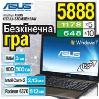Hоутбук Asus K52JU-330MS3DDAW по выгодной цене