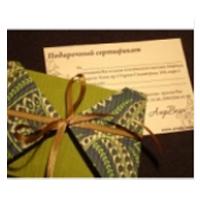 Подарочный сертификат на массаж и СПА-процедуры