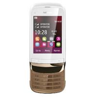 Мобильный телефон Nokia C2-03 Golden White со скидкой