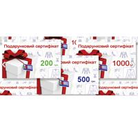 Подарочные сертификаты от Ун Моменто