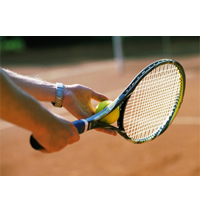 Мастер-класс большого тенниса по суперцене