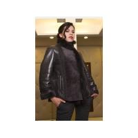 Женская куртка из аукционного меха норки