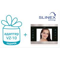 В подарок адаптер VZ-10 при покупке любого видеодомофона Slinex