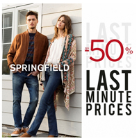 Поспішай оновити весняний гардероб у SPRINGFIELD